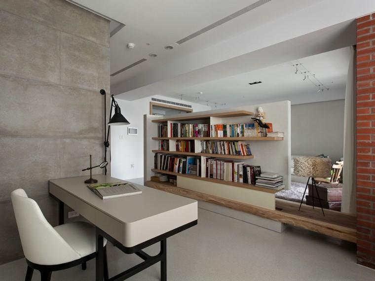 Interiores minimalistas 2 ideas de dise o asiatico for Muebles oficina minimalista