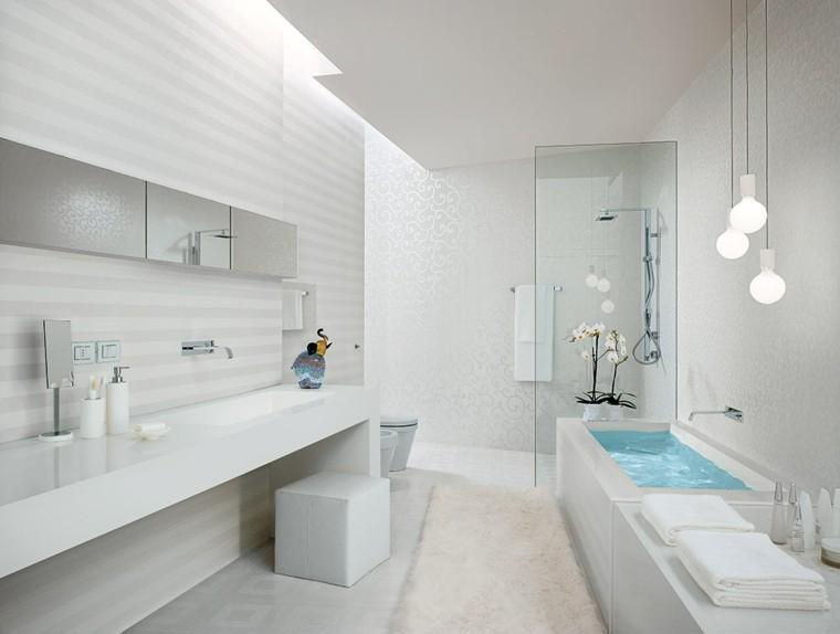 original diseño baño todo blanco