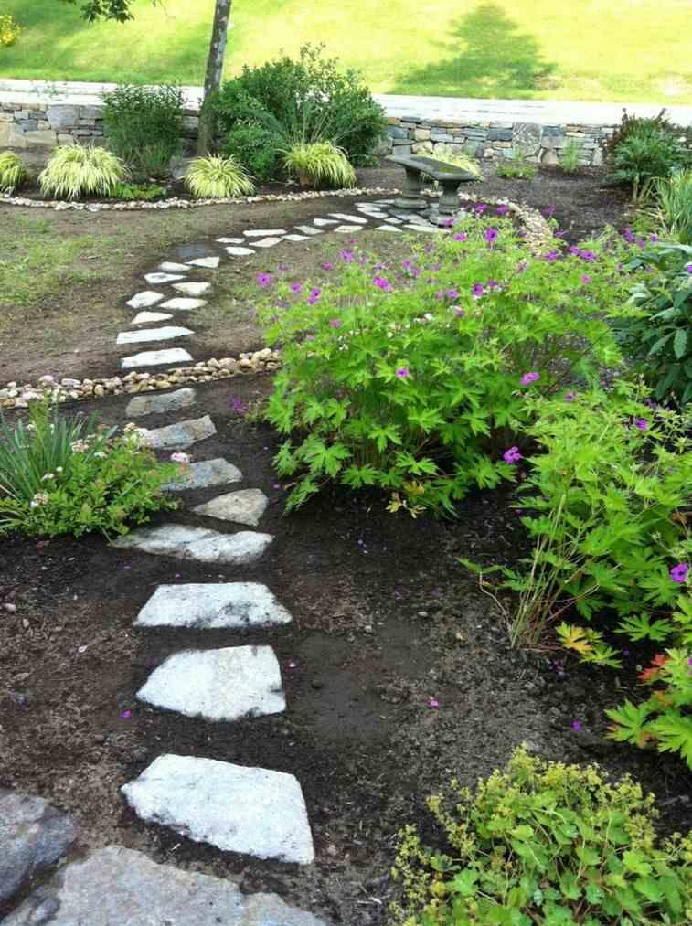 original diseño sendero jardin cruzado