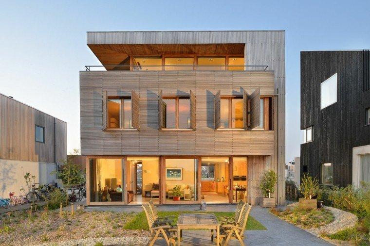 paisajismo estilo moderno casa moderna