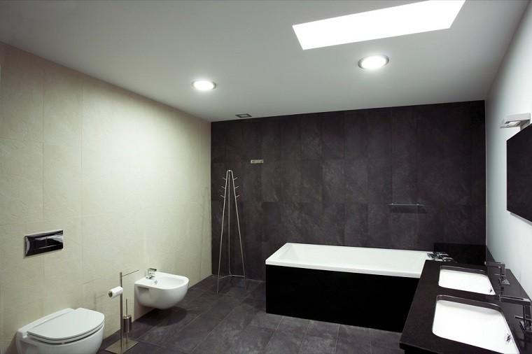 Baño Porcelanato Gris:Diseño de baños modernos – 60 ideas fantásticas