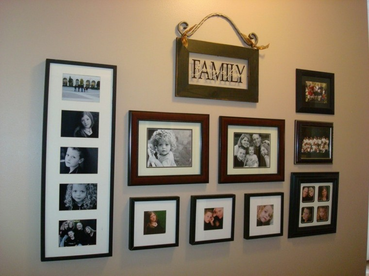 Paredes dise o y decoraci n al alcance de todos for Diseno de paredes con cuadros