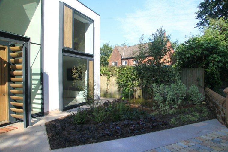 patio terraza diseño moderno figura