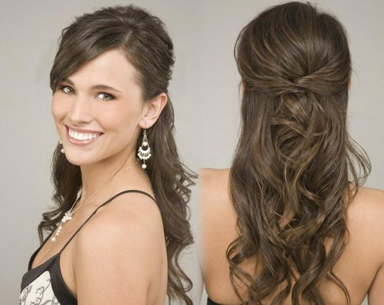 Peinados de novia melena suelta