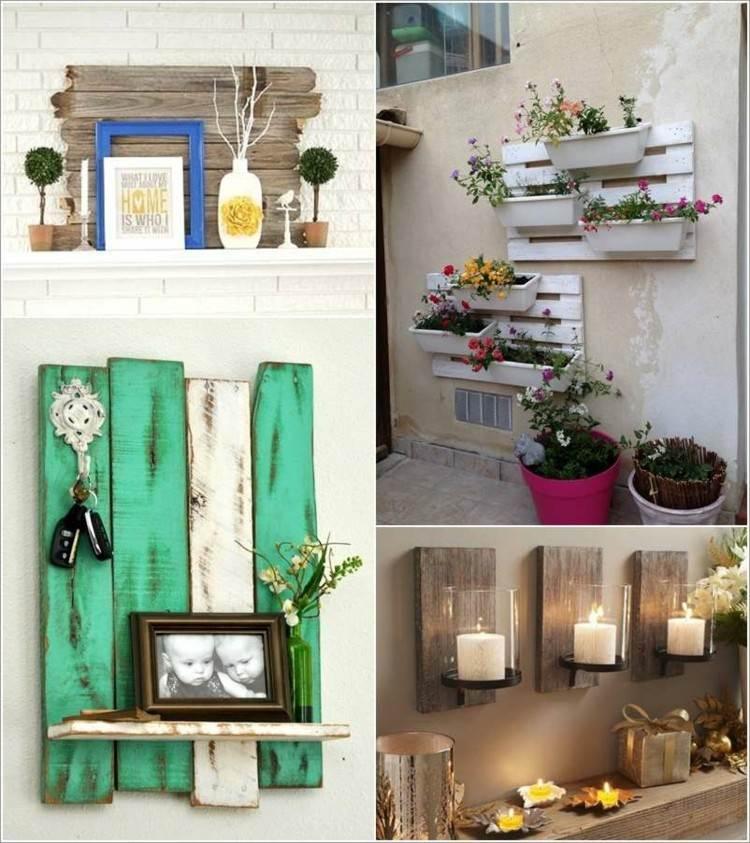 Decoracion de casas modernas 50 ideas creativas - Ideas con palets de madera ...
