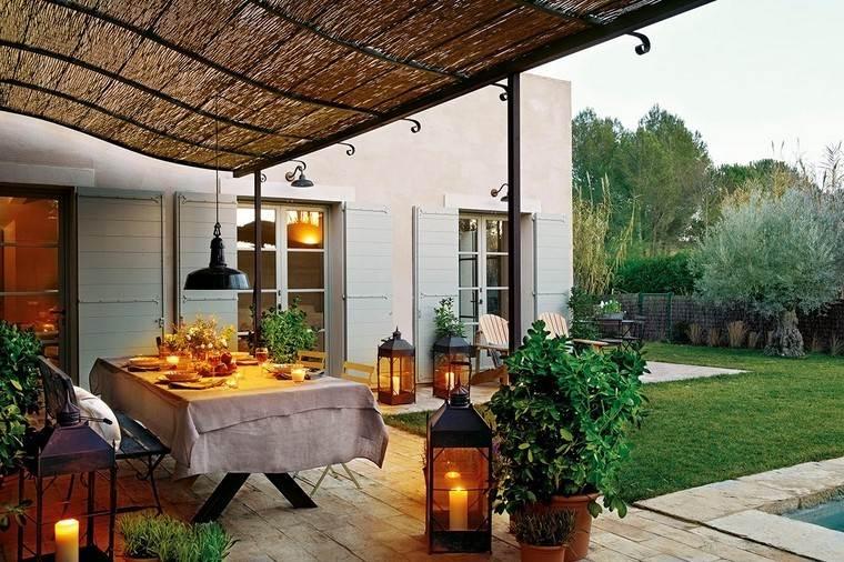 P rgolas jardines terrazas con estilo muy modernas - Pergolas de hierro ...