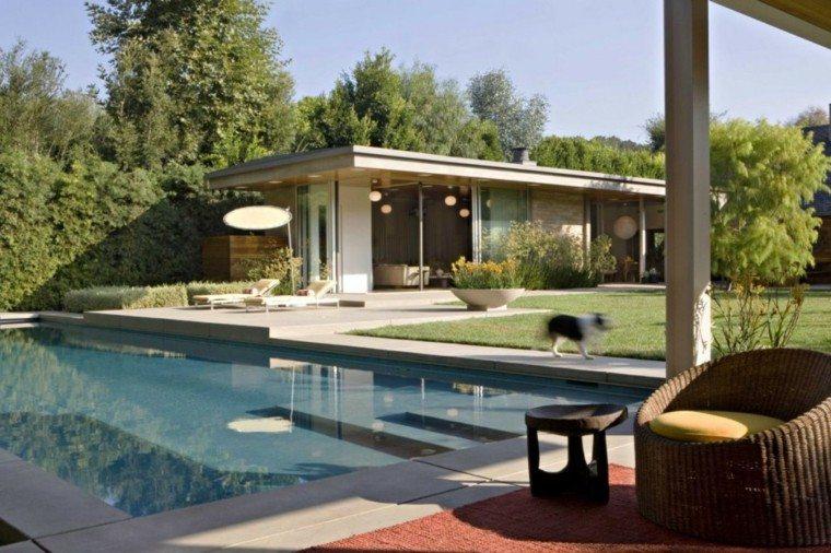 pergola mirador caseta piscina moderna