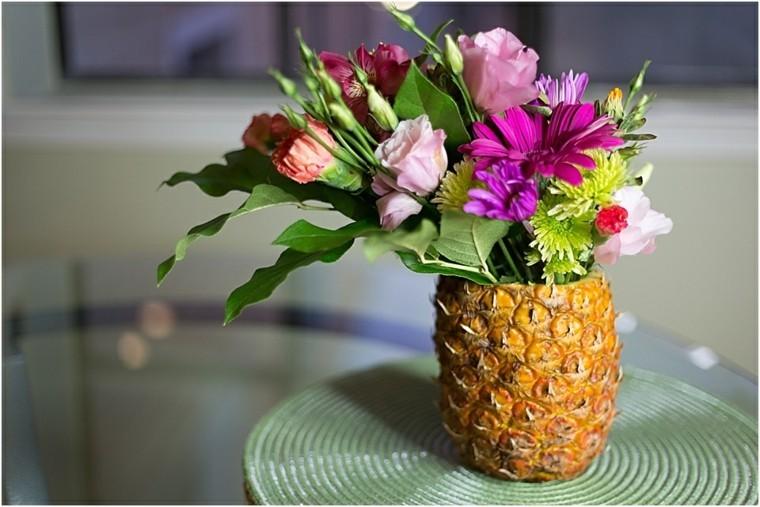 piña plantas hojas madura creativo