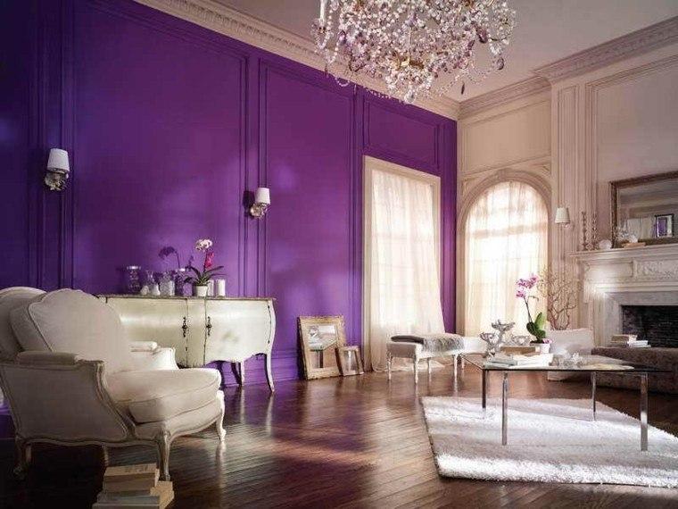 pintura paredes color purpura