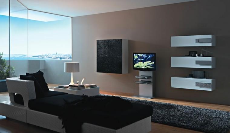 Pinturas para sal n ideas de combinaciones modernas - Salones en tonos grises ...