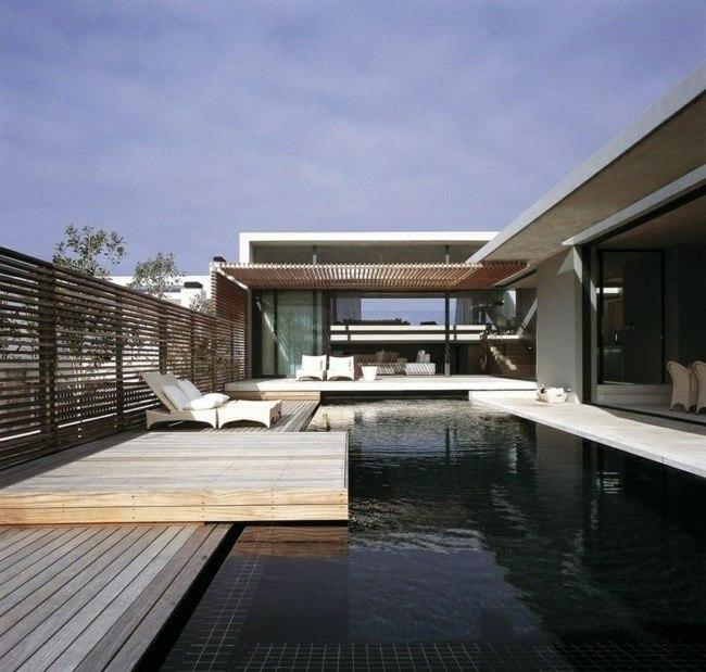 piscina estanque aspecto natural