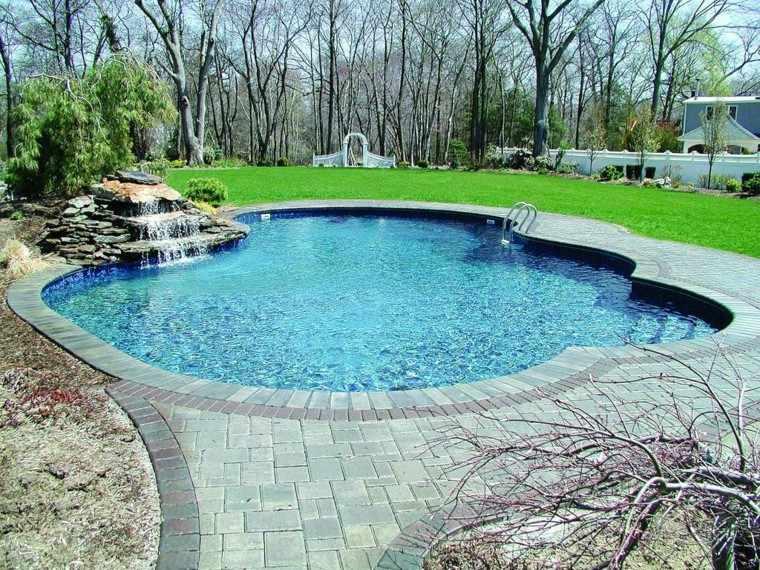 Piscina en el jardín: 75 ideas para refrescar el verano