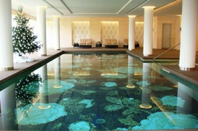 Construccion de piscinas en el jard n 103 ideas for Piscinas en interiores de casas