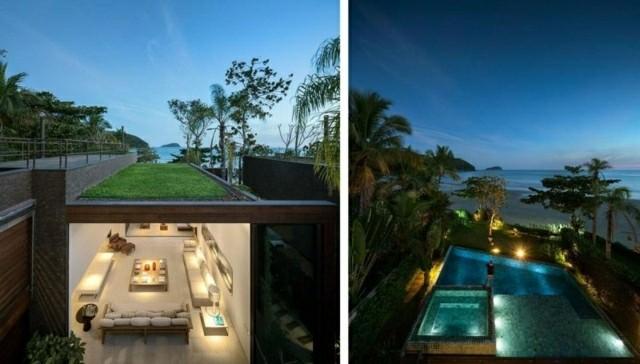 piscina terraza diseño jardin fotos