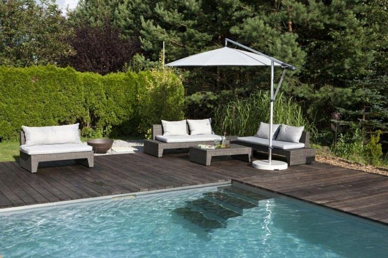 piscinas diseño muebles exterior muebles
