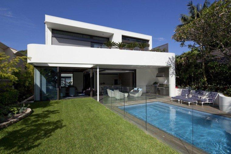 pools gardens lawn separator patio