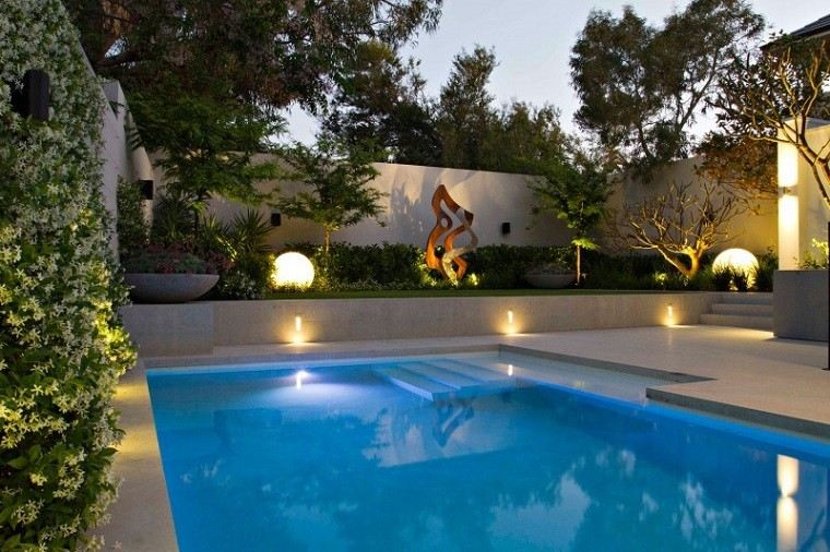 Piscinas jardines e ideas para el relax sin l mites - Jardines con piscinas fotos ...