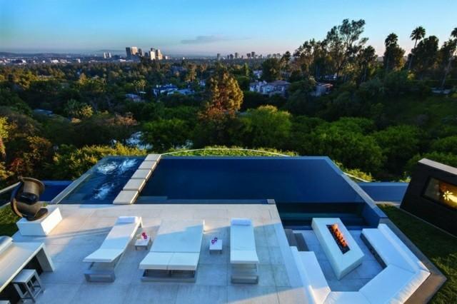 Piscinas de dise o moderno 75 ideas fabulosas - Medidas de piscinas de casas ...