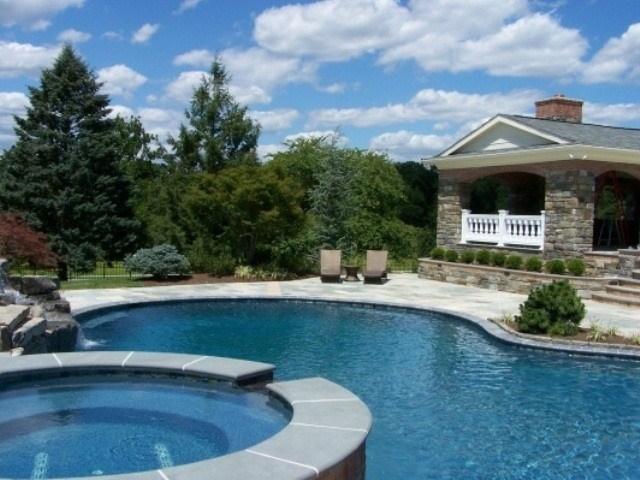 piscinas redondas jacuzzi integrado redondo