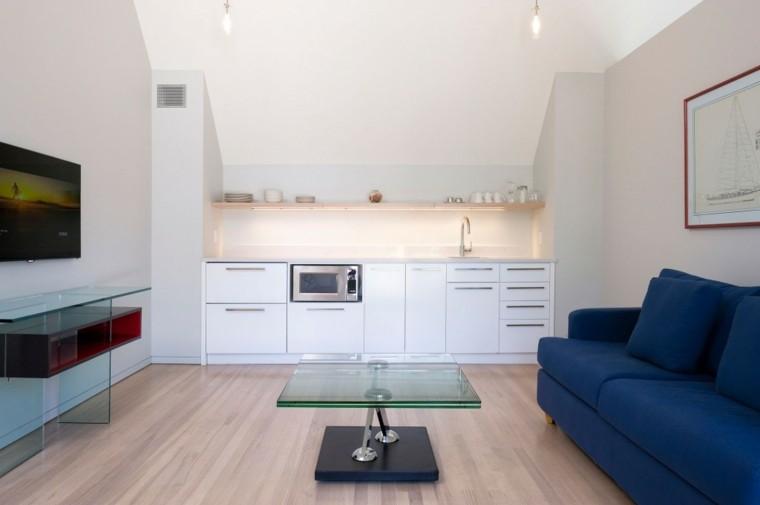 piso estilo loft diseño minimalista