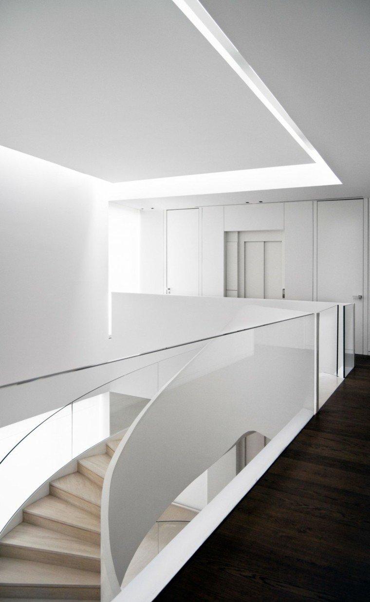 planta arriba diseño estilo moderno