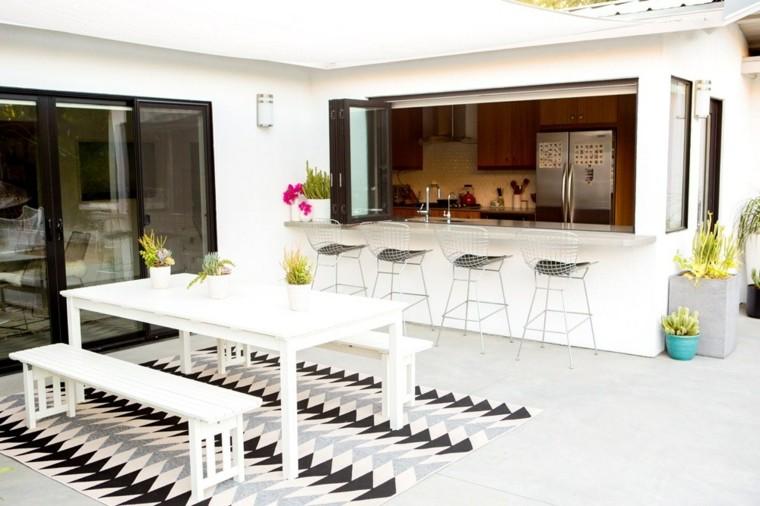 plantas decorativo barra taburete alfombra