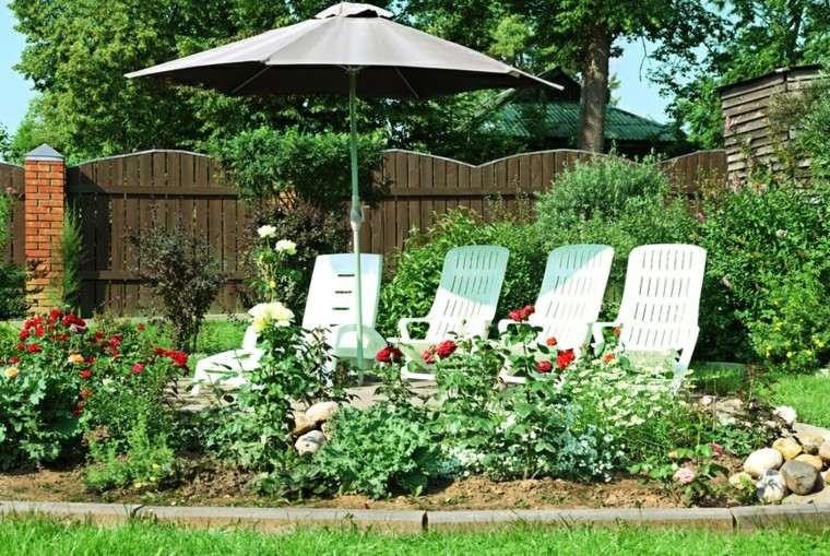 plantas ornamentales jardin moderno bonito ideas