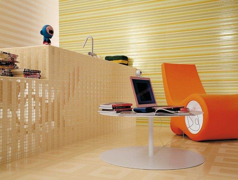 Azulejos para ba os modernos cien ideas geniales for Recubrimiento para azulejos