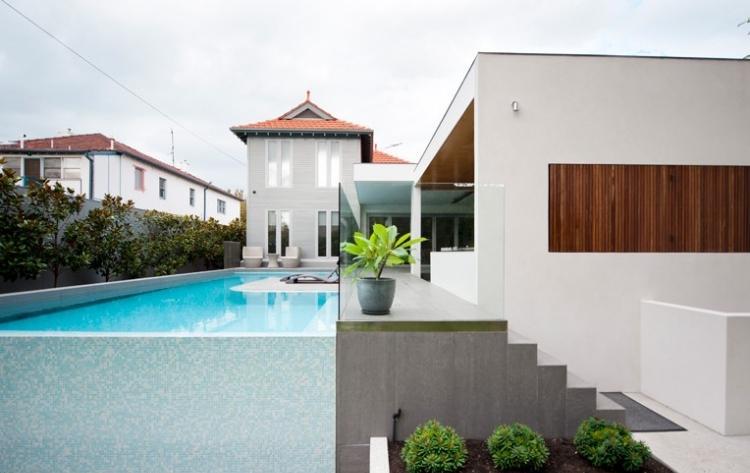 proyecto mosaicos fibra vidrio piscina