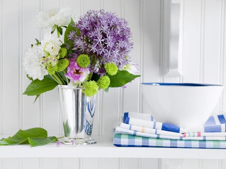 ramo precioso flores decorar casa ideas