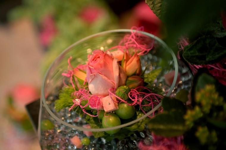 ramos de flores vaso grande rosas ideas
