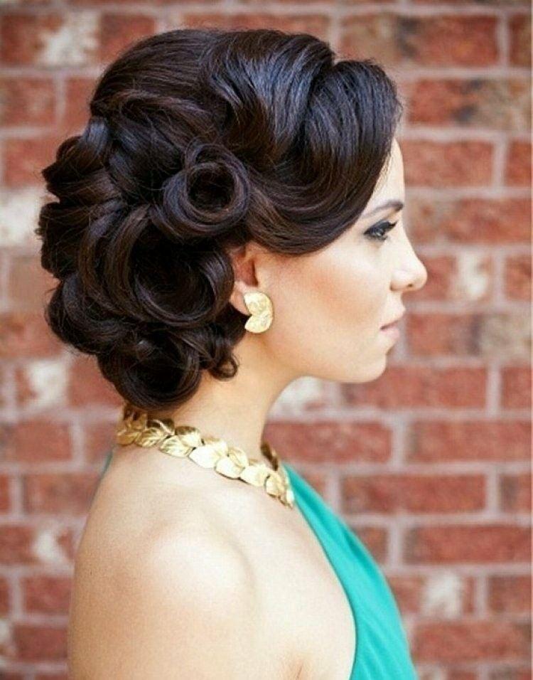 Peinados De Fiesta Con Glamur Cincuenta Ideas Geniales - Recogidos-actuales