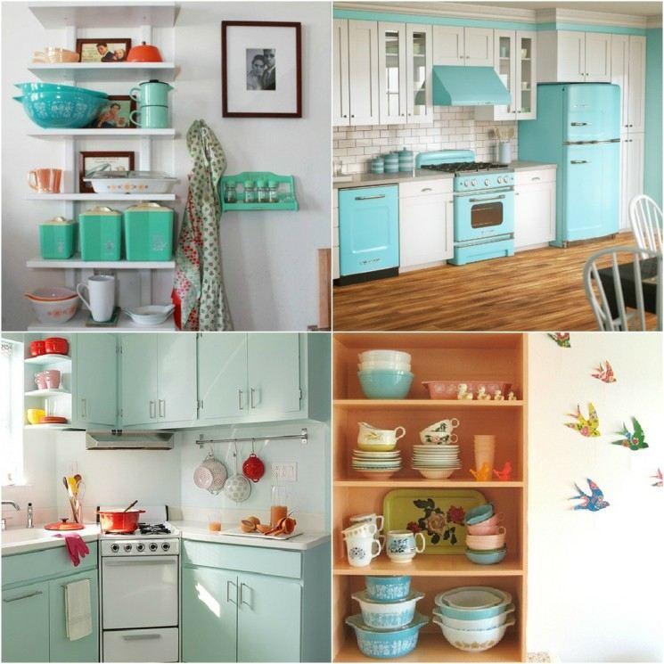 restaurar cocinas muebles diseño retro