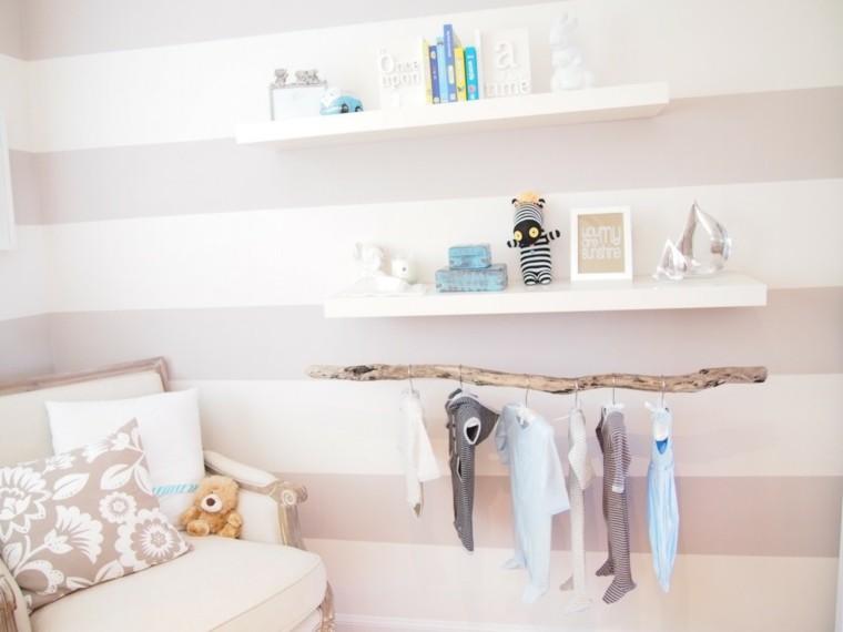 ropa niños cuarto soporte habitacion infantil