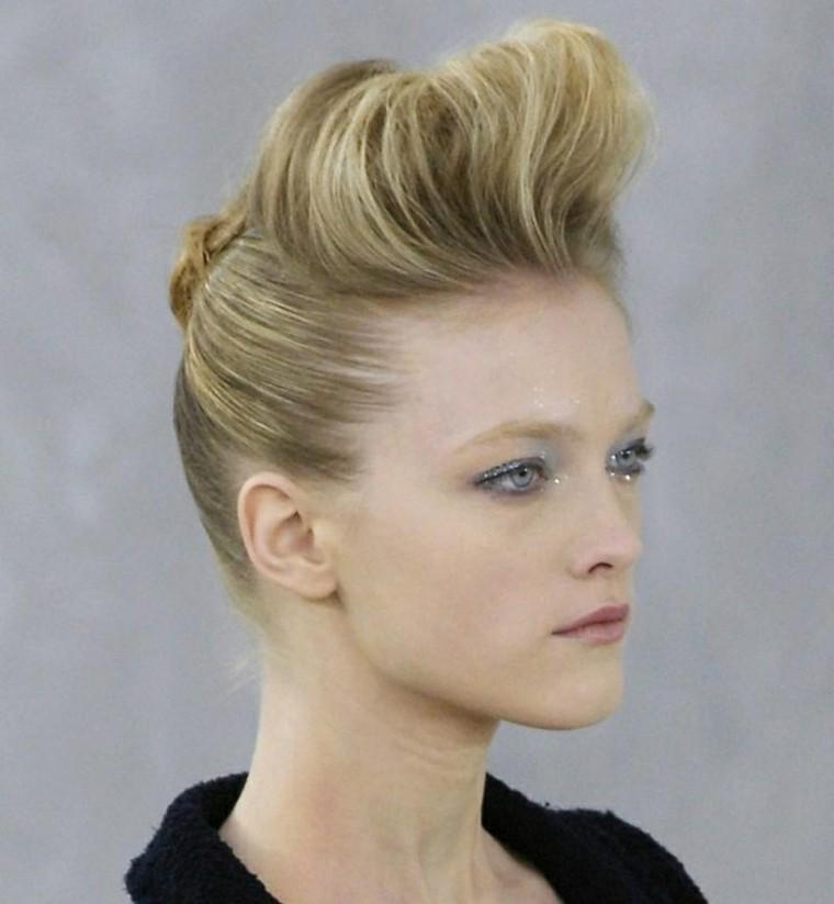Peinados Pin Up Girl Veinticinco Ideas - Recogidos-con-tupe