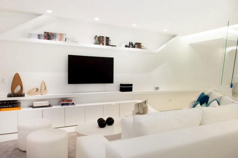 sala de estar penthouse madrid
