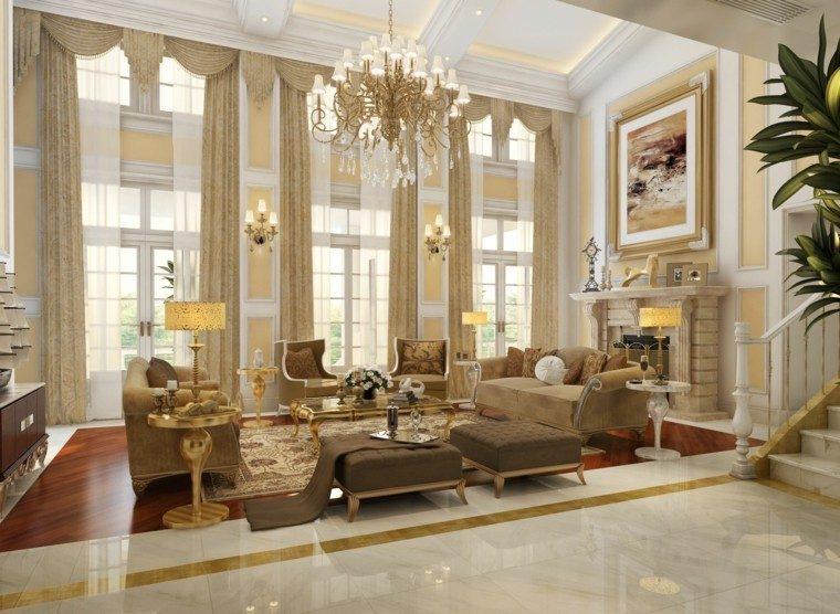 salon estilo victoriano lampra preciosa ideas