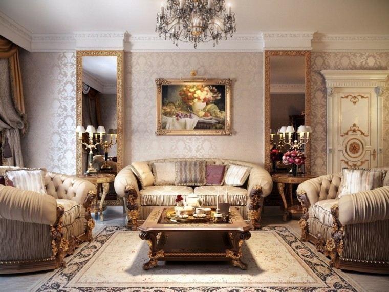 salon estilo victoriano sofas lujo ideas