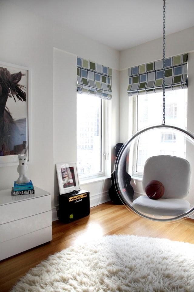 Columpios y sillas colgantes para el jard n 50 ideas - Sillas colgantes del techo ...
