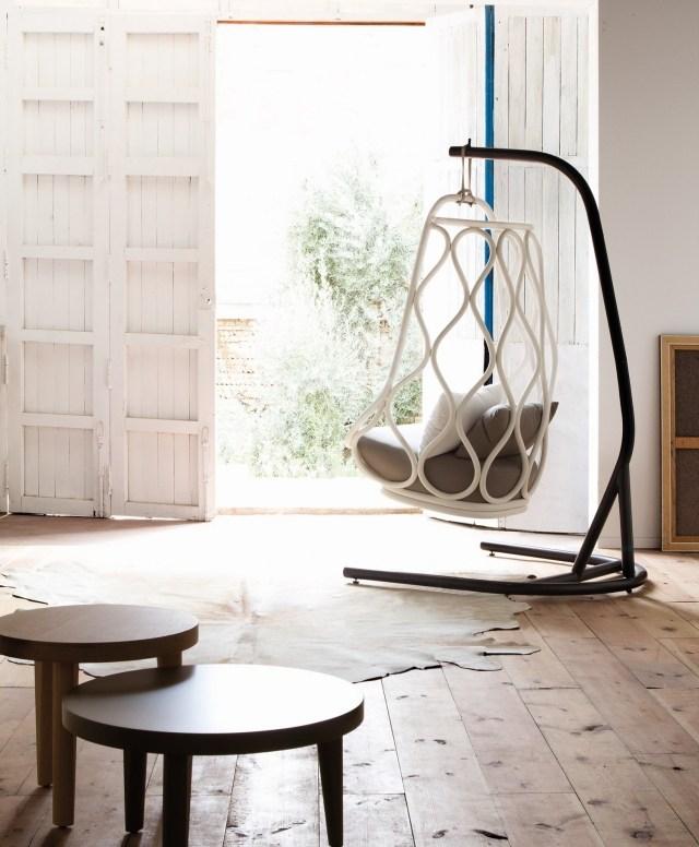 columpios y sillas colgantes para el jard n 50 ideas. Black Bedroom Furniture Sets. Home Design Ideas