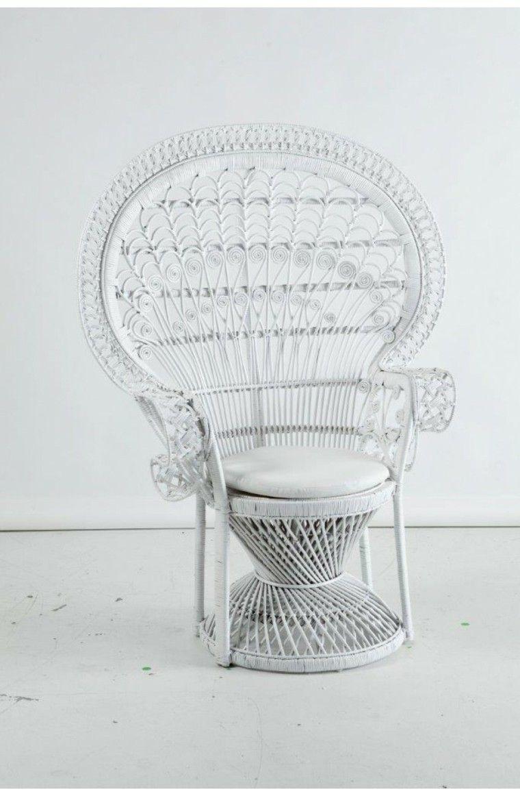 silla pavo color blanco cojin tambien ideas