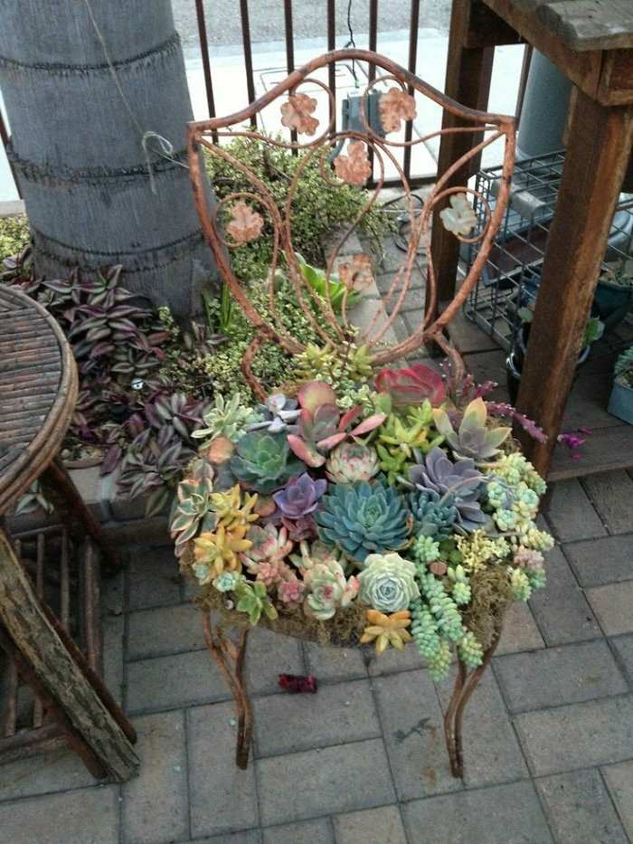 Manualidades faciles c mo hacer jardineras originales for Que plantas poner en una jardinera
