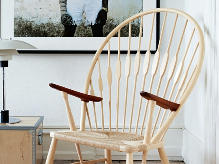 sillas pavo madera ideas aire libre resistente moderna