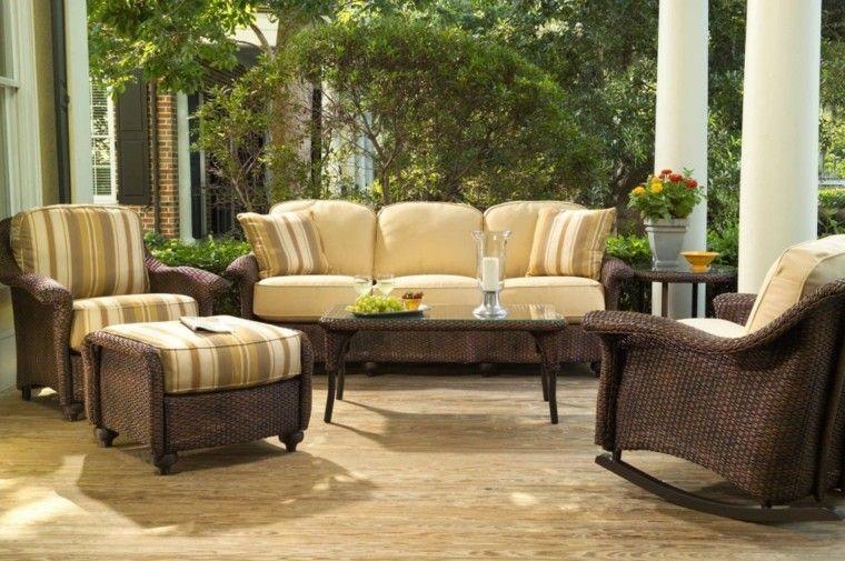 sofa cojines amarillos mesa baja cafe ideas