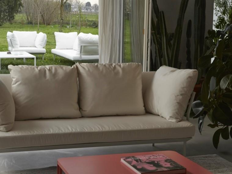 sofa diseno interiores exteriores moderna ideas