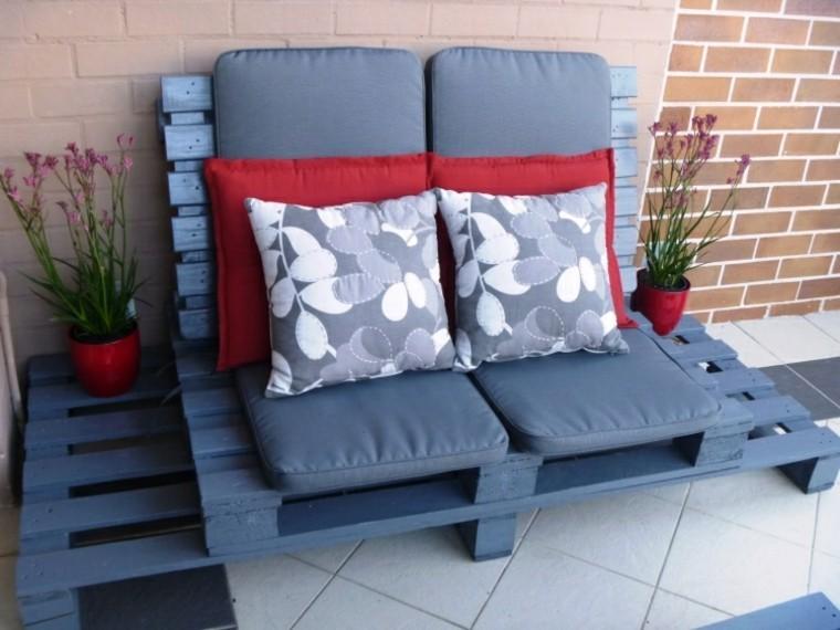 sofas baratos cojines patio plantas
