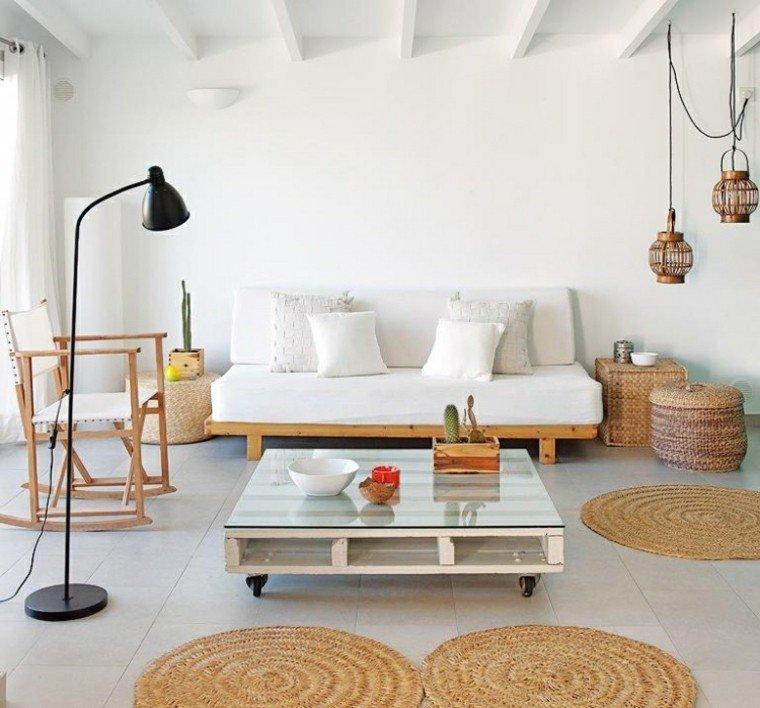 sofas baratos palets diy lampara colgantes