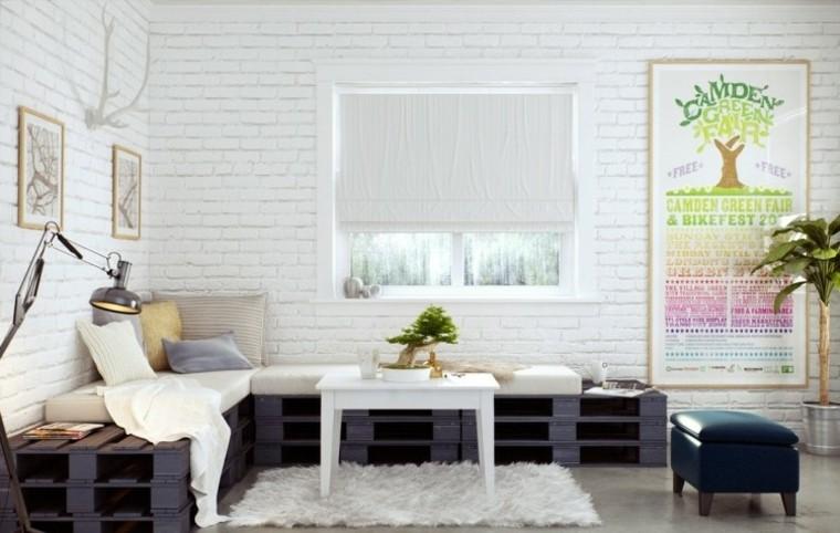 sofas baratos propuesta palets cuadros