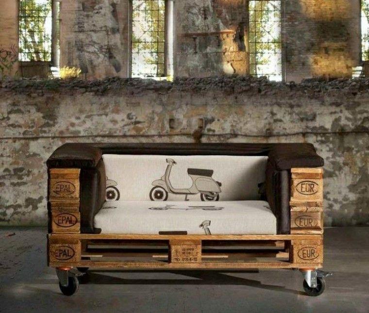 sofas baratos ruedas movil individual