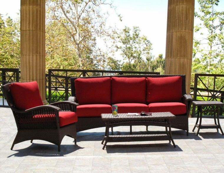 Sillones para jardin exterior muebles de jardn mesa for Sillones para exterior